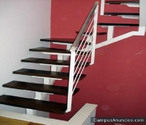 Precio de escalera hierro con pelda os madera pictures - Peldanos de escaleras precios ...