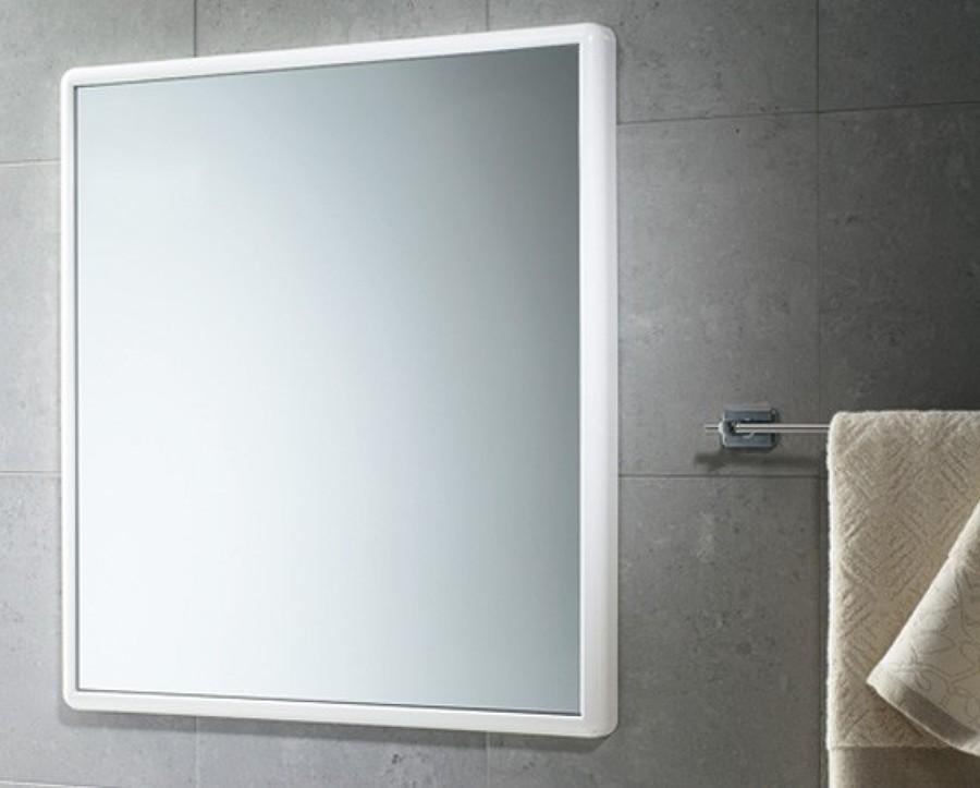Colocar espejo para el ba o con un marco de madera for Espejos ovalados sin marco