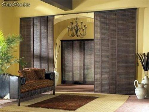 Puerta corredera para separar dos ambientes de una misma - Paneles para separar espacios ...