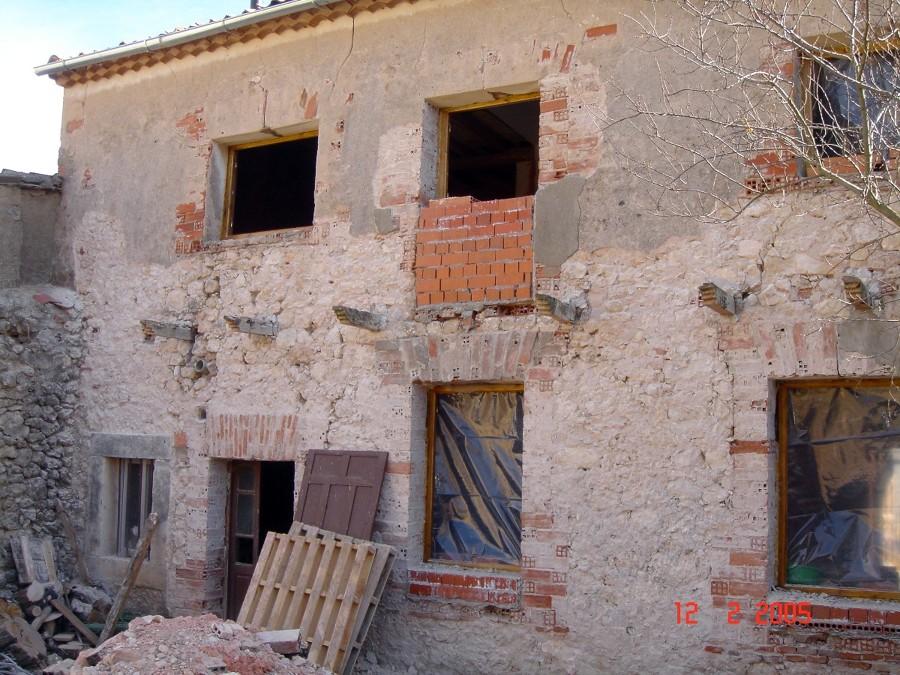 Enfoscar 2 fachadas con monocapa grajera segovia - Fachadas con monocapa ...