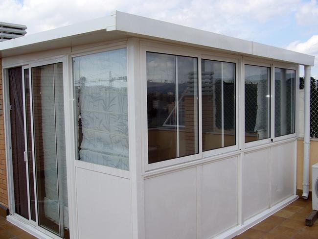 Poner cerramiento de aluminio o pvc en terraza de 200 m2 - Cerramientos de pvc para terrazas ...