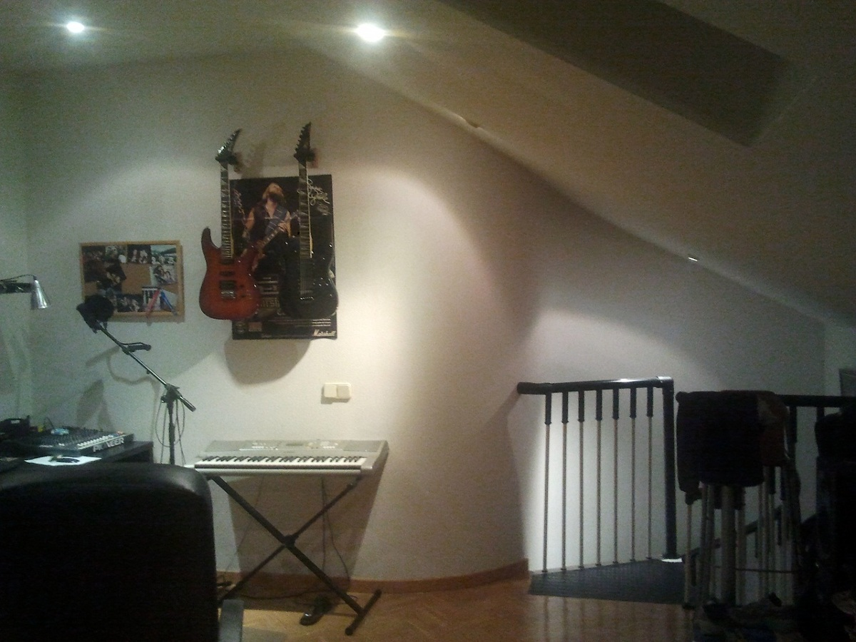 Insonorizar una pared de buhardilla madrid madrid - Insonorizar una pared ...
