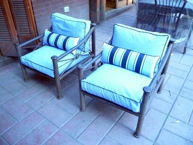 Comprar 10 15 cojines de exterior terrassa barcelona for Muebles gitanos