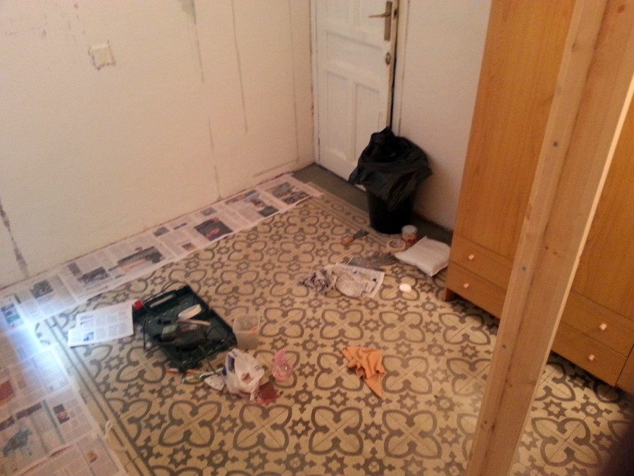 Insatalar parquet suelo 39 click 39 para habitaci n madrid - Precio poner parquet ...