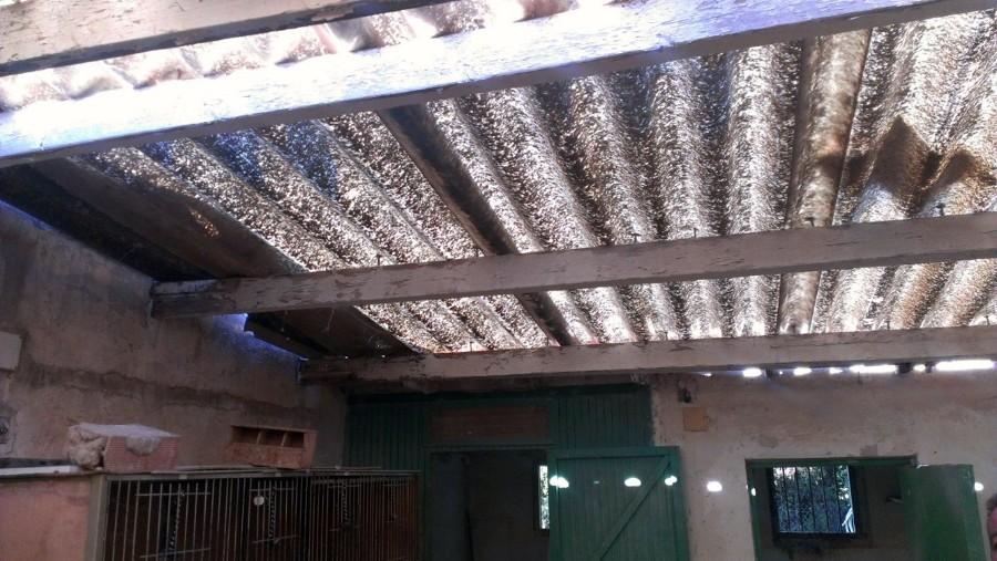 Reforma integral de tejado en casa de campo elda for Precio reforma integral casa