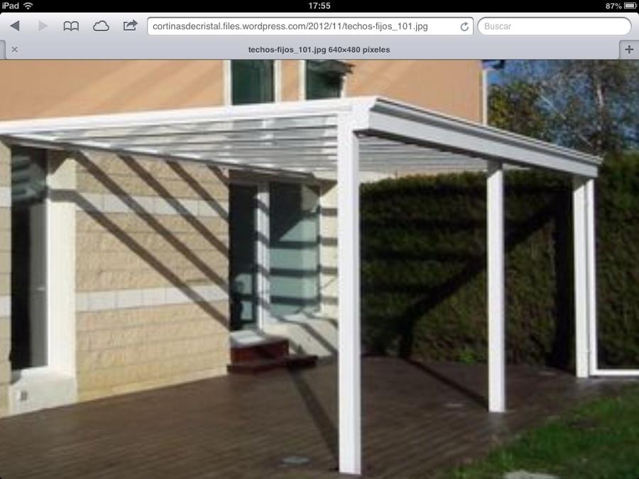 Hacer un porche soto del real madrid habitissimo - Construir un porche ...