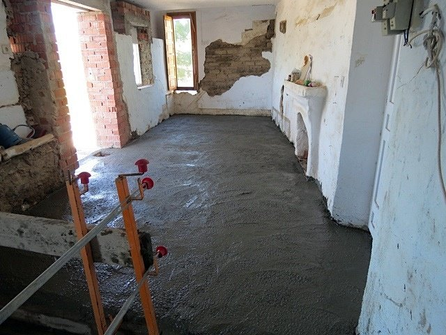 Suelo cemento pulido o microcemento frigiliana m laga - Suelo de microcemento pulido ...