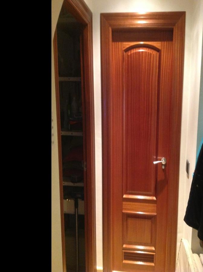 Lacar puertas interiores en blanco huercal de almer a for Lacar puertas en blanco