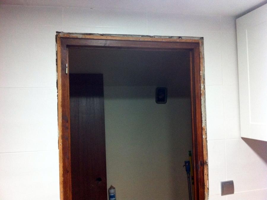 Suplemento de madera para colocaci n de puertas la pobla for Presupuesto puertas de madera