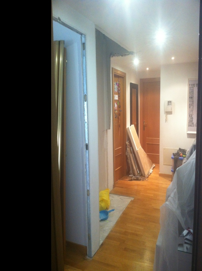 Tirar peque o tabique de pladur y rematar techo que falta madrid madrid habitissimo - Tirar tabique ...