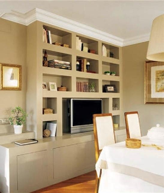 Ayuda por favor estoy perdida decorar tu casa es - Estanterias pladur fotos ...