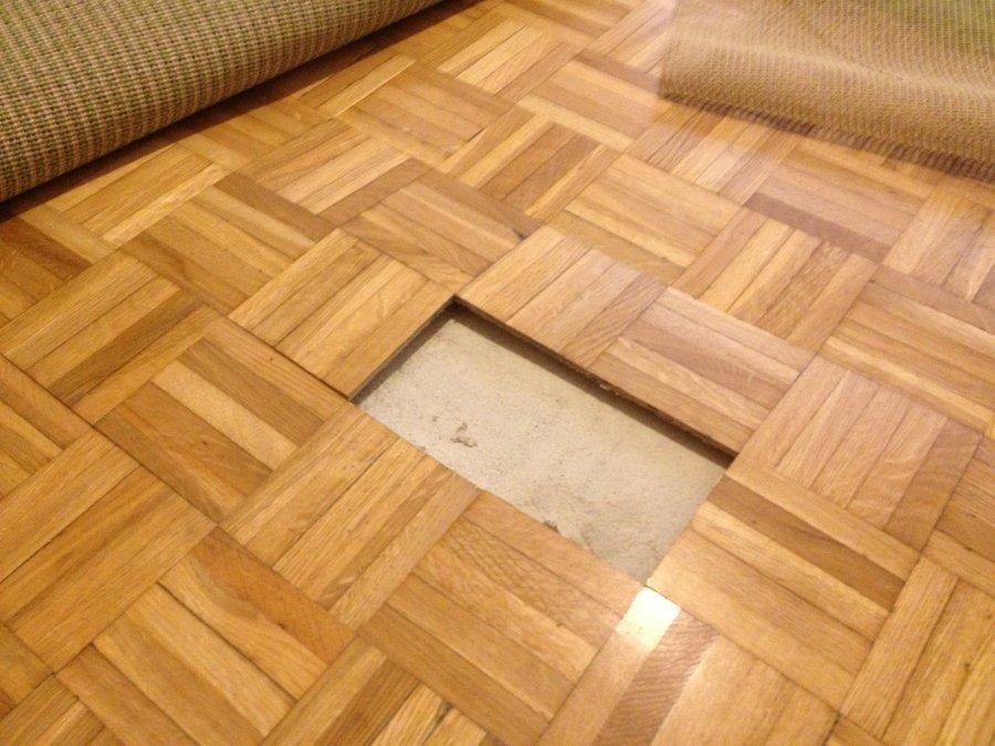 Arreglar parquet tarima maciza castao con gran veladura - Como reparar un piso de parquet levantado ...