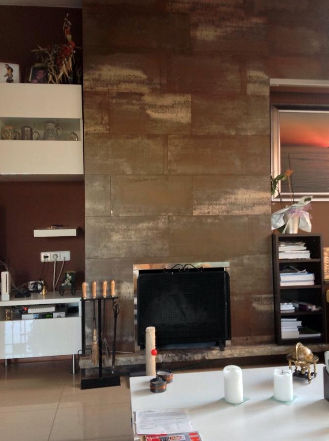 Reformar chimenea antigua mediante la instalaci n de un - Casete para chimeneas ...