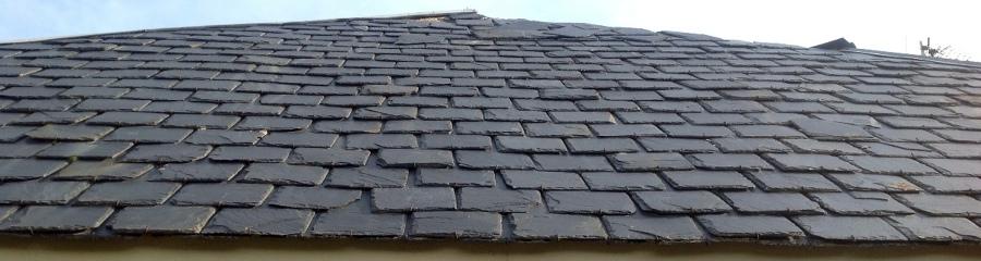 Arreglar tejado pizarra madrid madrid habitissimo - Tejado de pizarra ...
