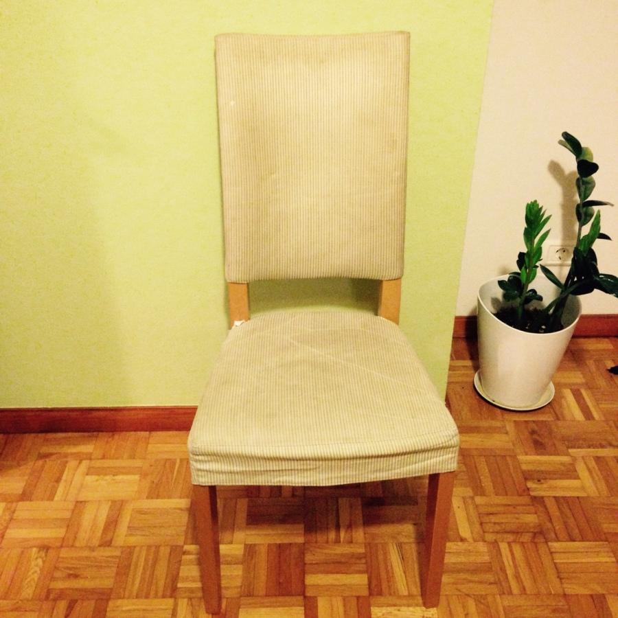 Tapizar tres sillas sencillas las palmas de gran canaria for Tapizar sillas precio