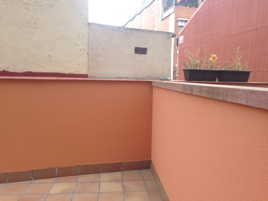 Valla brezo para terraza rub barcelona habitissimo - Precio brezo para vallas ...
