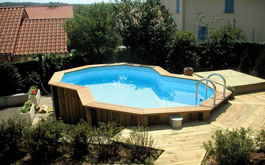Piscina desmontable y tarima boadilla madrid habitissimo for Que necesito para construir una piscina