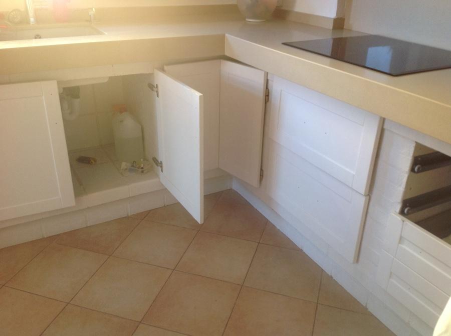 Cambiar puertas de madera en cocina de obra marratx - Cambiar puertas de cocina ...
