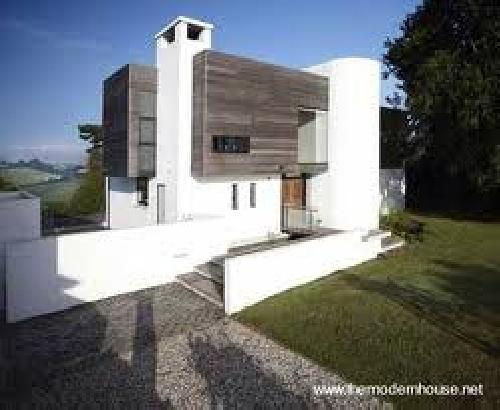 Construir casa moderna villa del prado madrid - Construir casa moderna ...