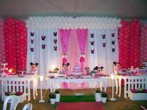 Ideas para decorar cumpleaños de Minnie - Imagui
