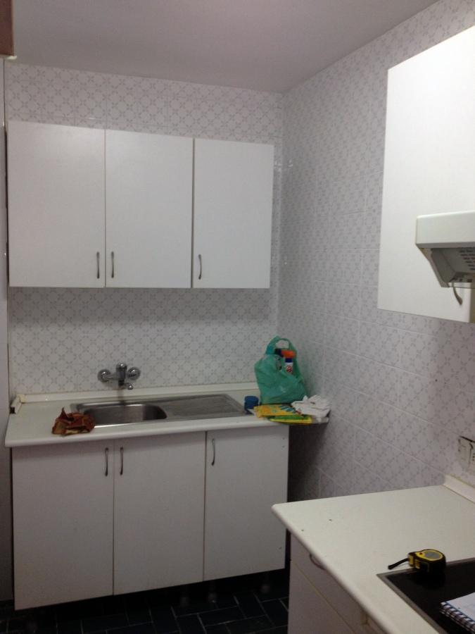 Reforma cocina y ba os cambiar suelo y paredes en cocina - Cambiar suelo cocina ...