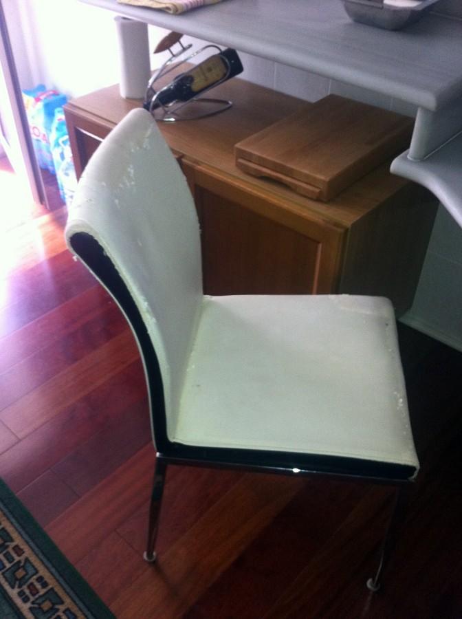 Tapizar silla de cocina bonrep s i mirambell valencia - Presupuesto tapizar sillas ...