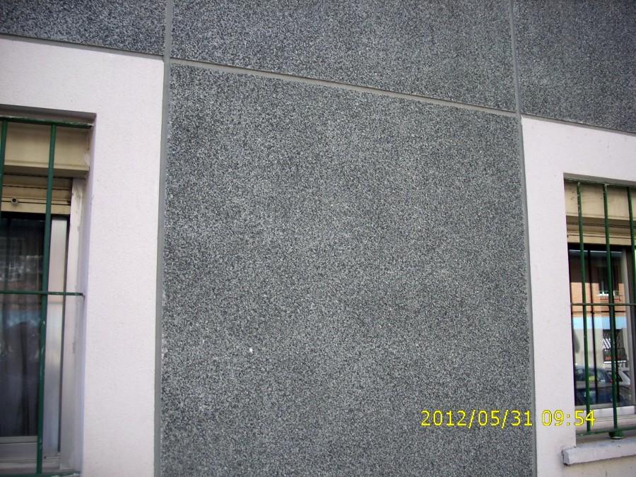 Pin fachada con monocapa teja ceramica piedra natural - Fachadas con monocapa ...