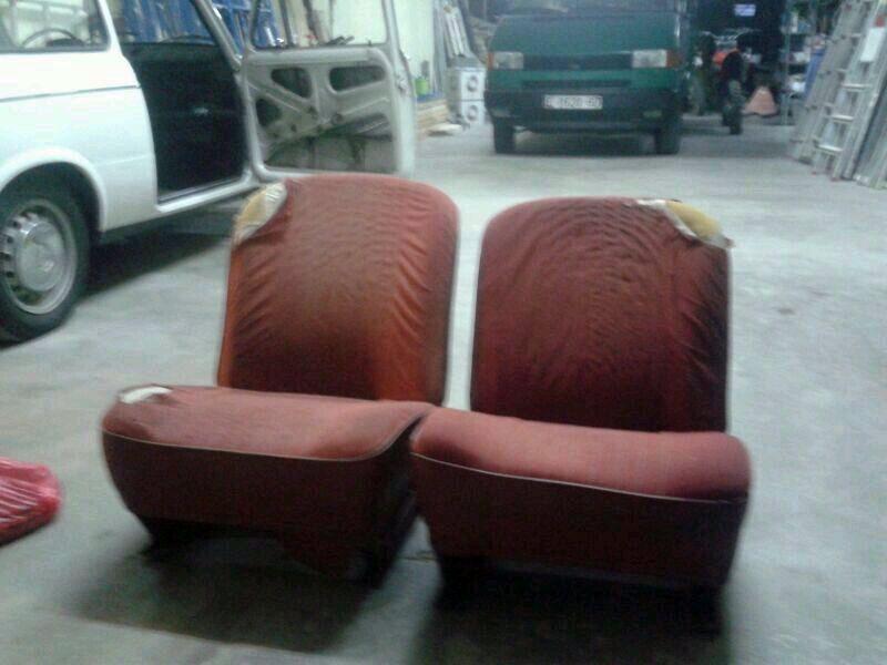 Como tapizar un asiento de carro for Tapizar asientos coche barcelona