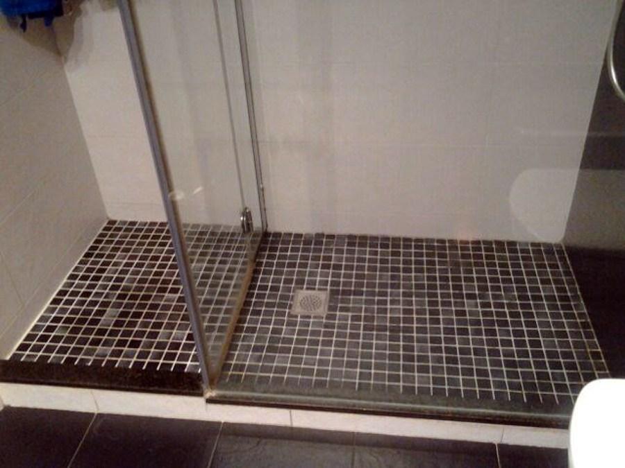 Cambiar ba era por plato de ducha y instalaci n de mampara - Cambiar ducha por banera precio ...