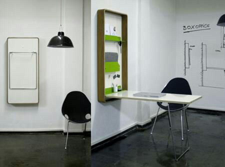Colgar una mesa plegable a la pared churra murcia - Escritorios plegables de pared ...