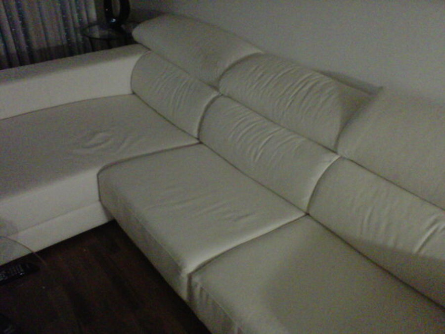 Tapizar sof polipiel 3 plazas con chaiselonge mollet - Precio tapizar sofa ...