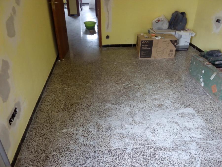 pulir suelo y vitrificado de terrazo palma de mallorca
