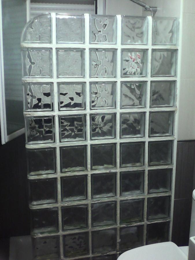 Cambiar muro de paves por mampara de cristal logro o la - Precio de paves ...