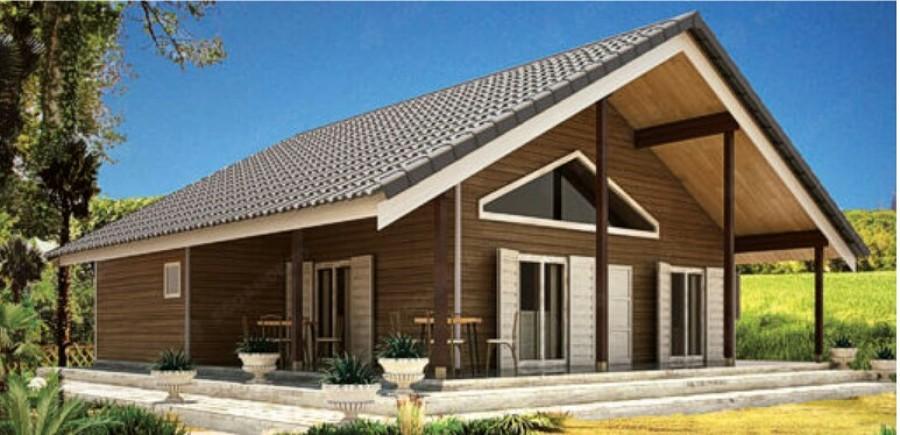 Construcci n casa prefabricada de madera en vigo - Presupuesto casa prefabricada ...