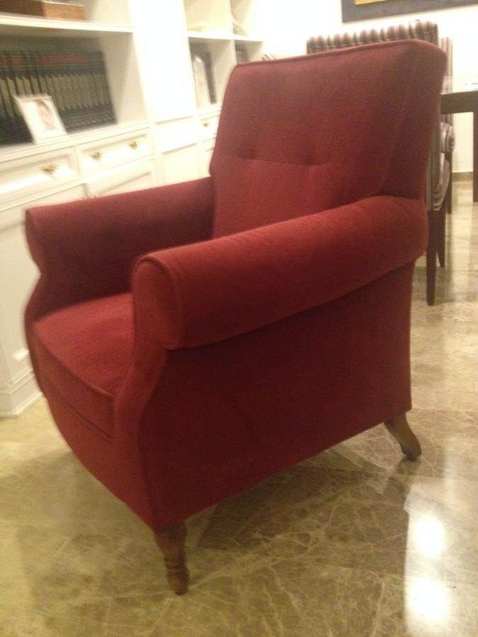 Tapizar un sill n tres sillas y hacer fundas en loseta - Tapizar sillon precio ...