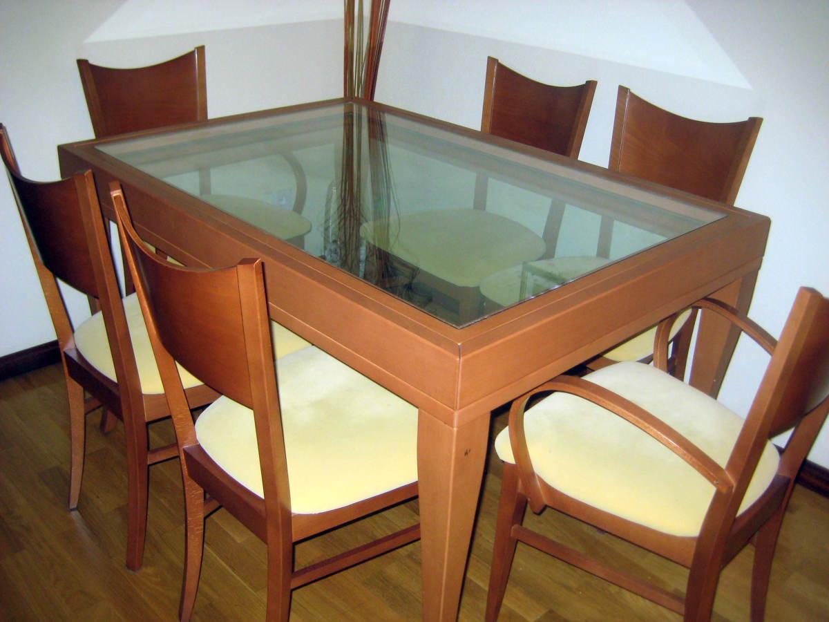 Pintar mesa y 6 sillas valladolid valladolid habitissimo - Pintar sillas de madera ...