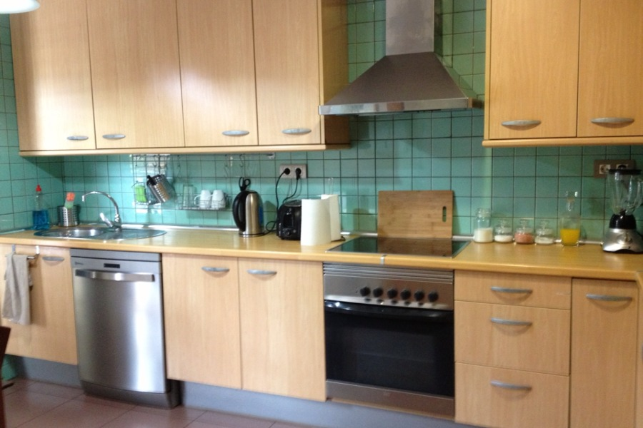 Pintar los azulejos de la cocina las palmas de gran - Pintar azulejos de cocina ideas ...