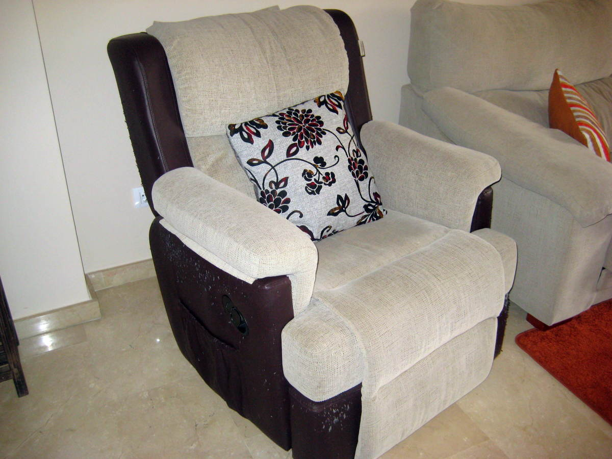 Tapizar sillones relax parcialmente marratx illes - Materiales para tapizar ...