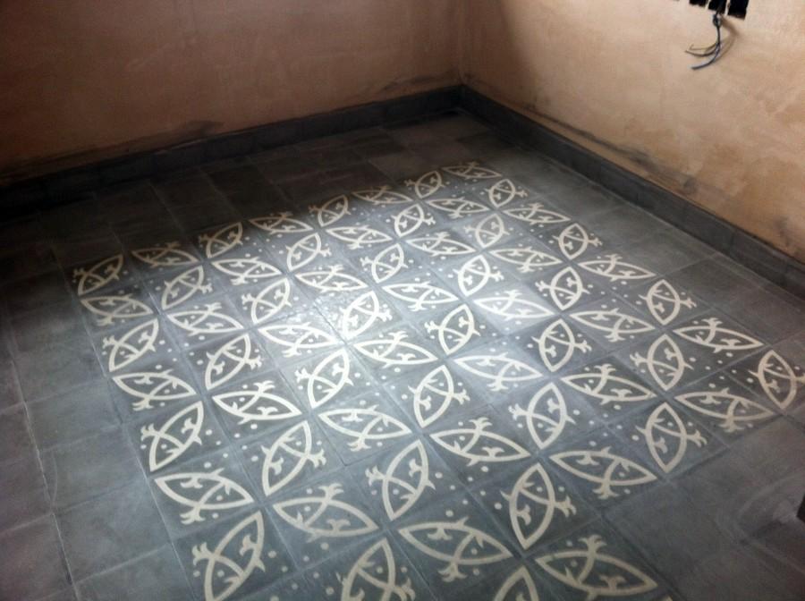 Realizar pulido y acristalado de mosaico hidraulico - Mosaico hidraulico precio ...