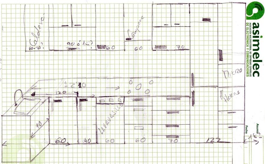 Decoracion mueble sofa presupuesto cocina completa - Altura campana cocina ...