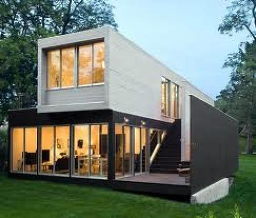 Casa prefabricada modular minimalista cornell de for Casas prefabricadas minimalistas
