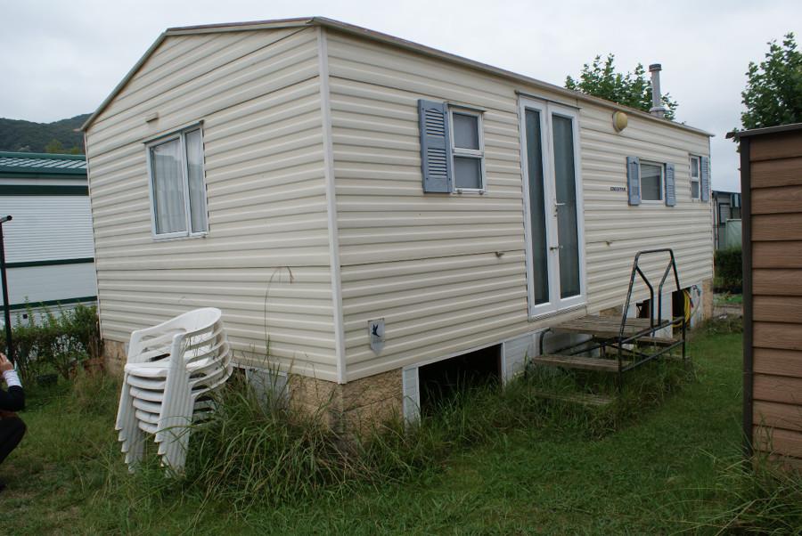 Construir un porche para mobil home noja cantabria - Hacer un porche ...