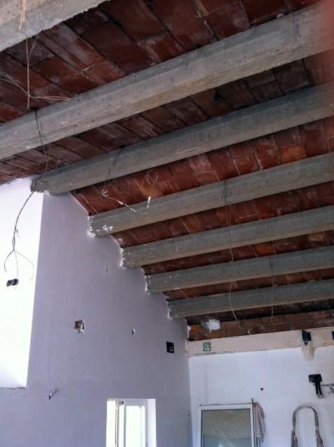 Hacer techo con pladur y lana de roca sant boi de for Precio techo pladur