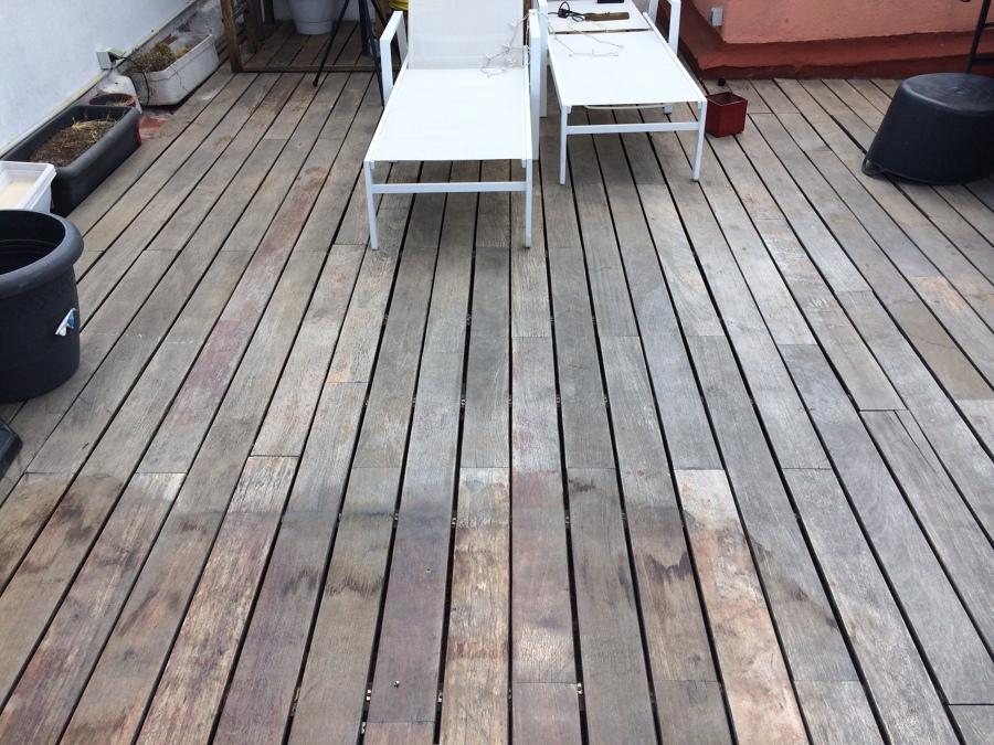 Lijar suelo tarima y barnizar madera terraza exterior 40m2 - Suelo terraza exterior precios ...