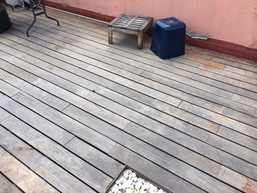 Lijar suelo tarima y barnizar madera terraza exterior 40m2 - Suelo madera terraza ...
