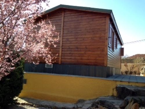 Revestir fachada ventilada de casa de madera bercimuelle - Precio fachada ventilada ...