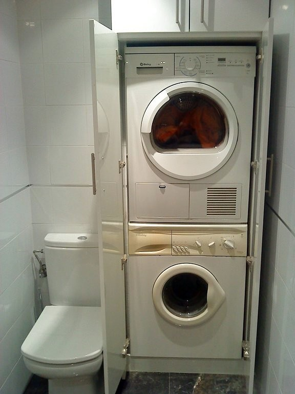 mueble para lavadora y secadora dise os arquitect nicos