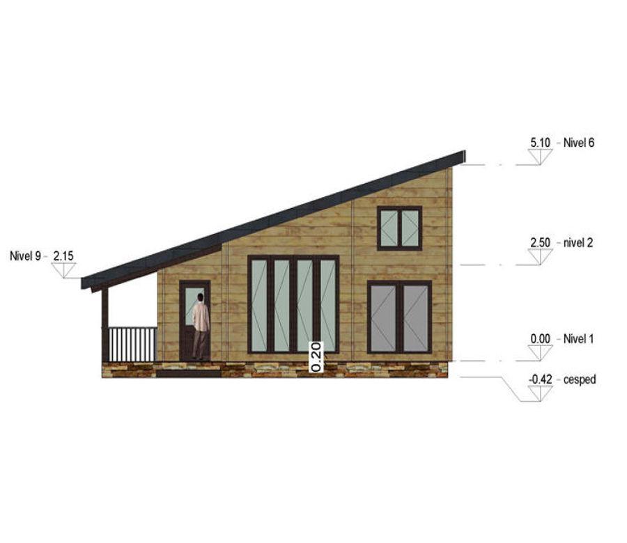 Construir casa de madera teixeiro curtis a brixeira - Casas prefabricadas a coruna ...