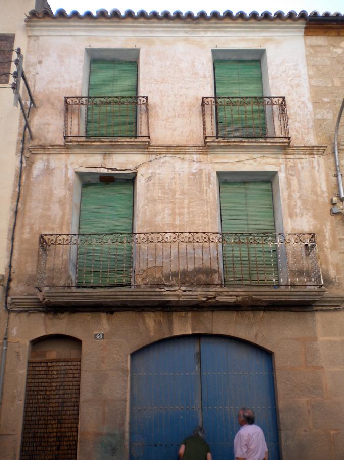 Rehabilitar fachada casa antigua maella zaragoza - Rehabilitar casa antigua ...