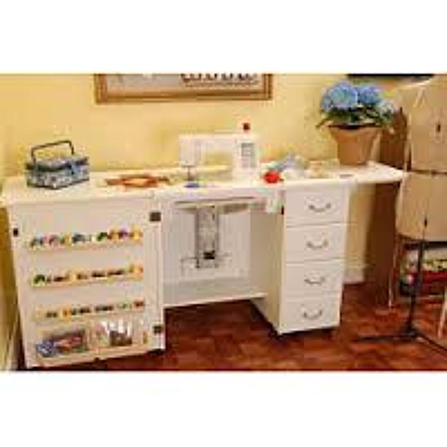 Decorar Cuartos Con Manualidades Maquina De Coser Mueble Blanco # Muebles Maquina De Coser